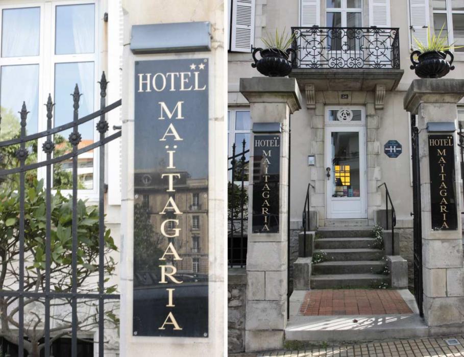 Hôtel Maïtagaria à Biarritz
