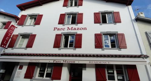 Hôtel parc mazon à Biarritz