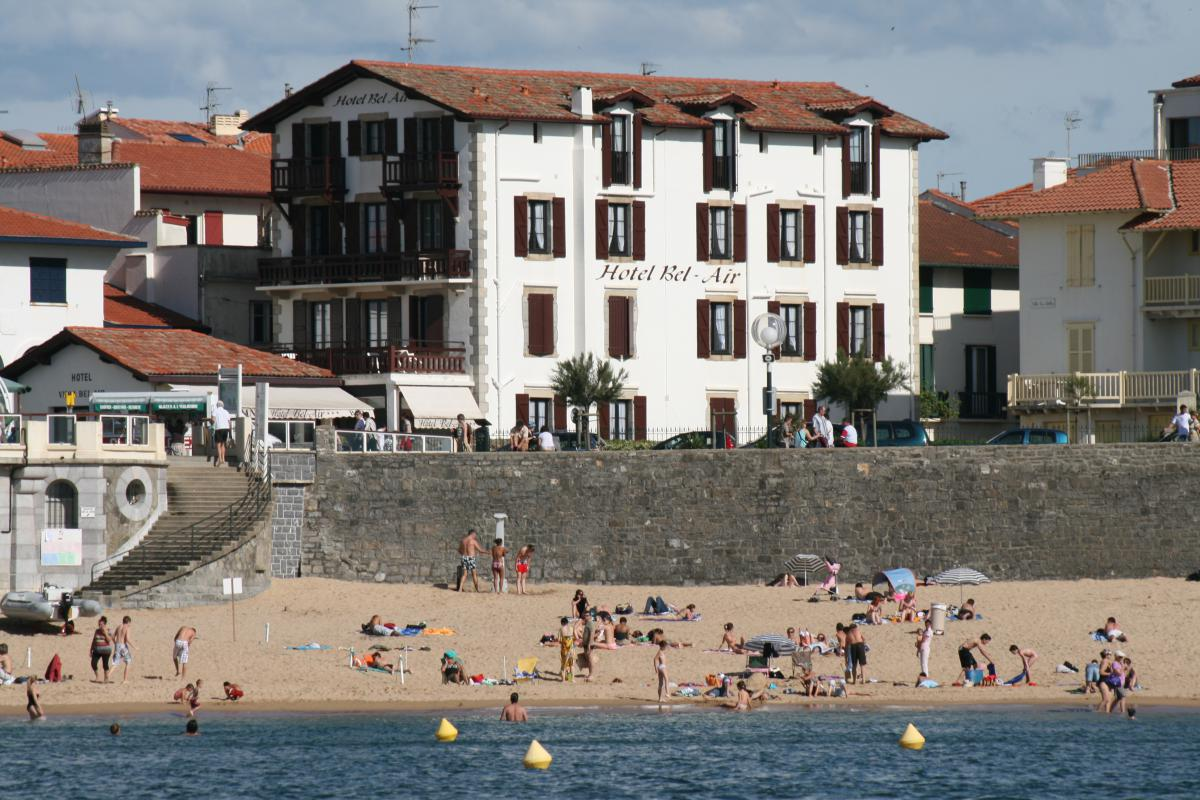 Hôtel villa bel-air à Saint-jean-de-luz