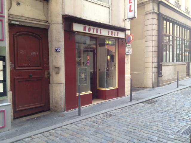 Hôtel iris à Lyon 1er arrondissement