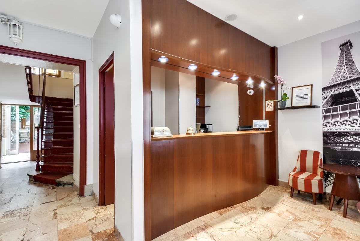 Hotel Pavillon Courcelles Parc Monceau Paris 17eme Arrondissement