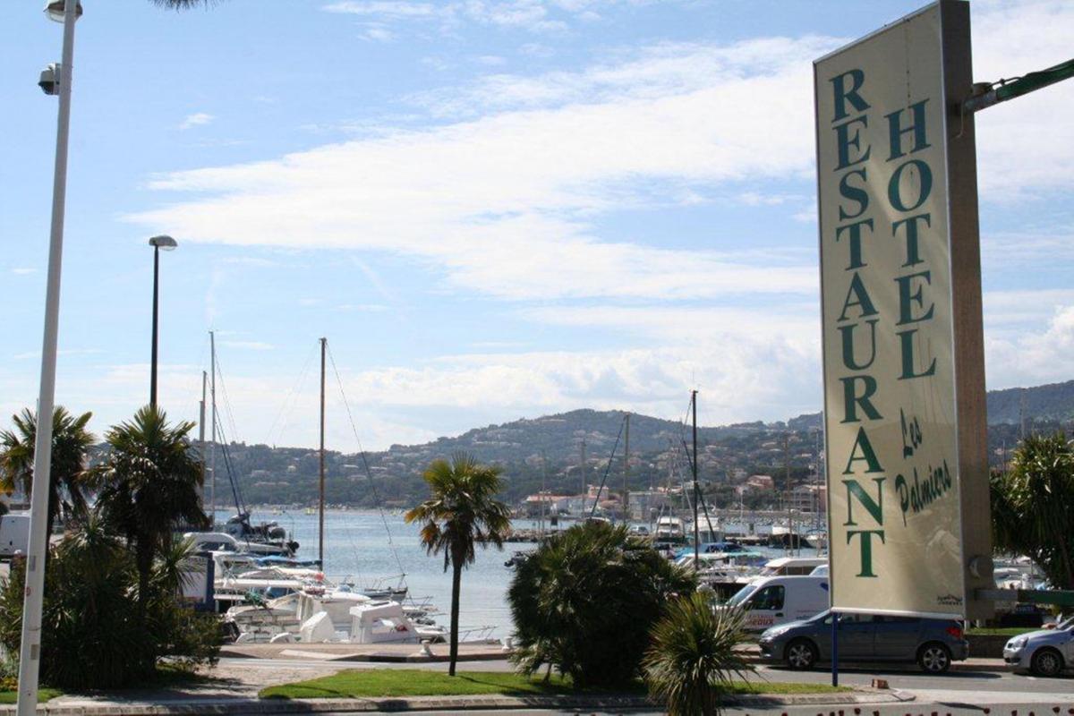 Hotel les palmiers in Sainte-maxime