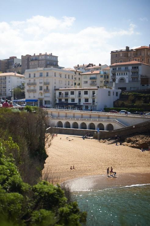 Hôtel de la plage esplanade du port vieux à Biarritz
