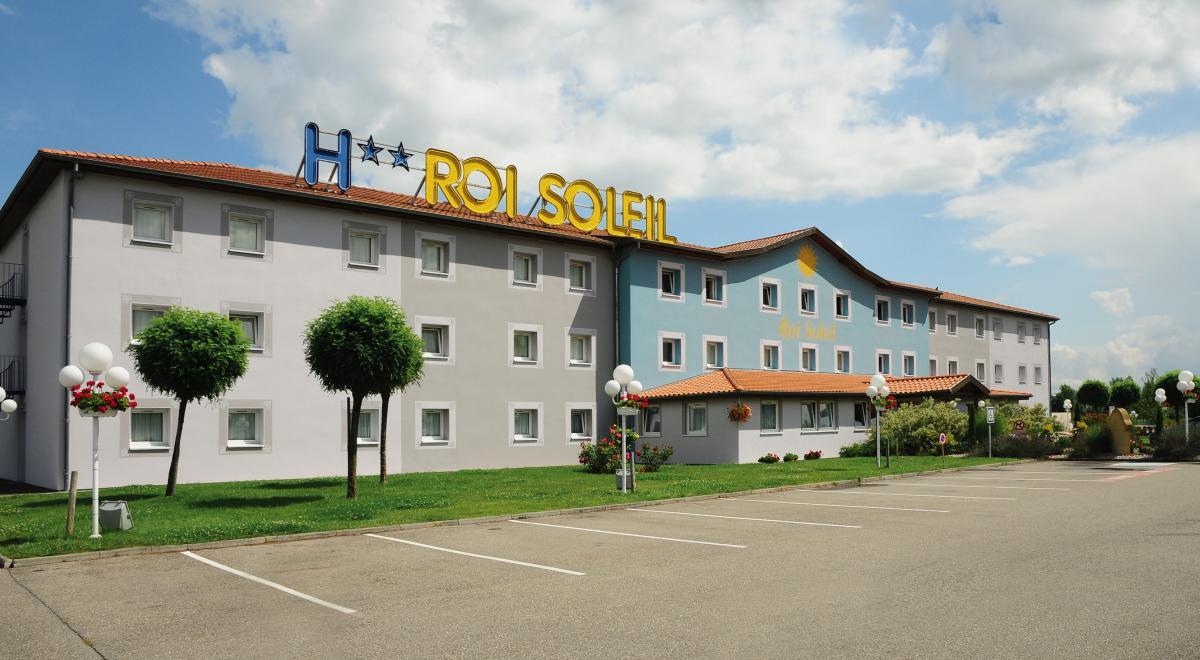 Hôtel roi soleil colmar à Colmar