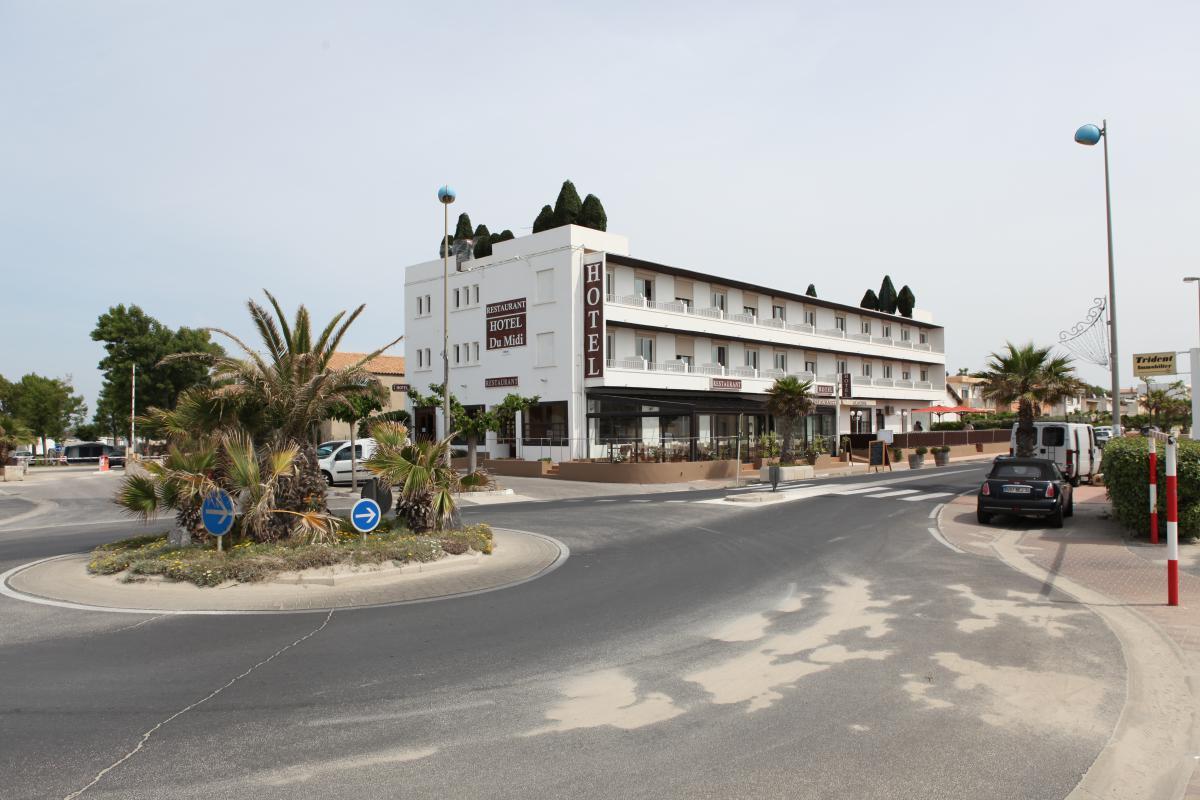 Hôtel du midi à Palavas-les-flots